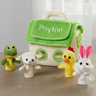 Finger Puppet Friend Toys with Personalized House