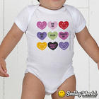Personalized Smiley Baby Bodysuits