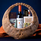 Good Cheer Wine Gift Basket