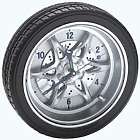 Tire Rim Gear Clock