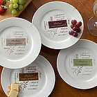 Personalized Wine Please Dinner Party Plates