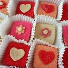 Red Gingham Valentine Sugar Cookie Crisps