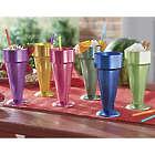 6 Aluminum Sundae Cups