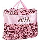 Cheetah Nap Bag