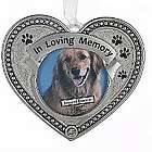 In Loving Memory Pet Loss Photo Ornament