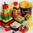 Say It in Color 8-Tier Congratulations Snacks Gift Tin and Tower