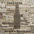 Craft Beer Word-Art Canvas