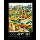 Country Life Personalized Art Print