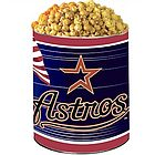 Houston Astros 3-Way Popcorn Gift Tin