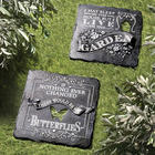 Sleep in the House, Live in the Garden Outdoor Plaque