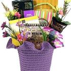Snacks and Book Gift Basket for Sisters