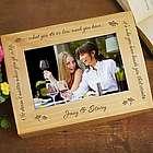 Friendship Who You Have Beside You Photo Keepsake Box