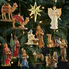 Three Kings Resin Nativity Ornaments
