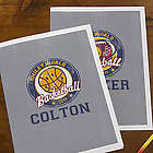 Smiley Sports Personalized Kids Folders