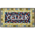Personalized Handmade NYC Lexington Ave Subway Mosaic House Sign