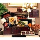 Wood Desk Caddy Medium Gourmet Gift Basket