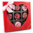 Heart Sprinkled Chocolate Dipped Oreos