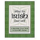 Irish Quotes Cards