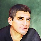 George Clooney Limited Edition Fine Art Print