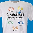Helping Hands Personalized T-Shirt
