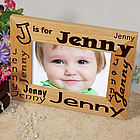 Personalized Baby Name Frame