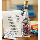 Personalized World's Best Dad Mini Message in a Bottle