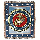 Marines Tapestry Throw