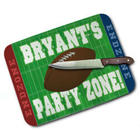 Football Party Zone Personalized Cutting Board