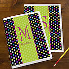 Polka Dots for Her Personalized Folders