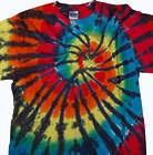 Rainbow Fireworks Tie Dye T-Shirt