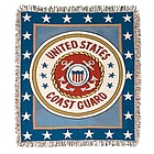 Coast Guard Tapestry Throw