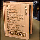 Personalized Retirement Wooden Photo Album
