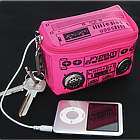 MP3 Speaker Wallet Keychain