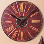Grand Hotel Red Wall Clock
