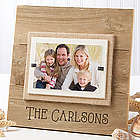 Personalized Reclaimed Beachwood Picture Frame