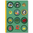Girl Scouts Vintage Badge Journal