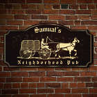 Personalized Historic Neighborhood Pub Sign