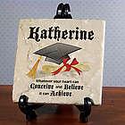 Conceive, Believe, Achieve Graduation Tumbled Stone Plaque