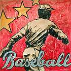 Baseball Star Canvas Art