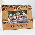 Personalized Damask 4x6 Family Picture Frame
