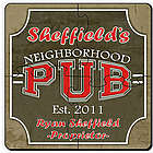Neighborhood Pub Coaster Puzzle Set