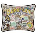 CatStudio Embroidered Cal Berkeley Pillow