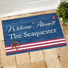 Welcome Aboard Boat Floor Mat