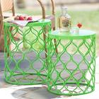 Colorful Metal Nesting Table Set