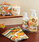 Pumpkin Melody Spa Set with Candle