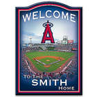 Los Angeles Angels of Anaheim Personalized Wooden Welcome Sign