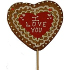 "9"" Giant Heart Valentine's Cookie Pop"
