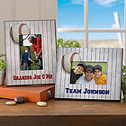 Personalized Baseball Picture Frame