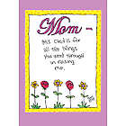 Mom Went Thru Funny Mother's Day Greeting Card