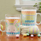 Personalized Easter Bunny Kids Mug